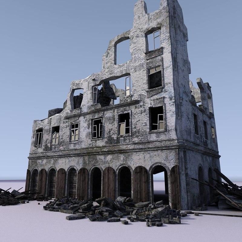 building ww2 3d ma