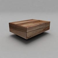 Wood Bench 2_100