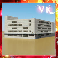 photorealistic building 2 office 3ds