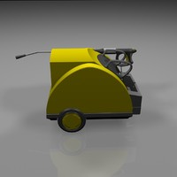 3d model water high-pressure cleaner