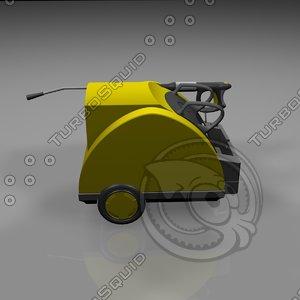 3d model water high-pressure cleaner
