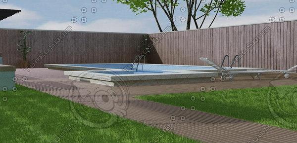 pool 02 3d model