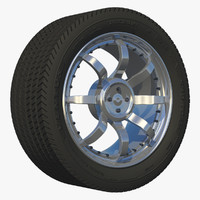 3dsmax wheel sport 1
