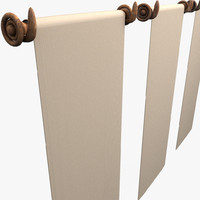 Medieval Drapery Textured Wallpaper linen canvas screen Carpet (2)