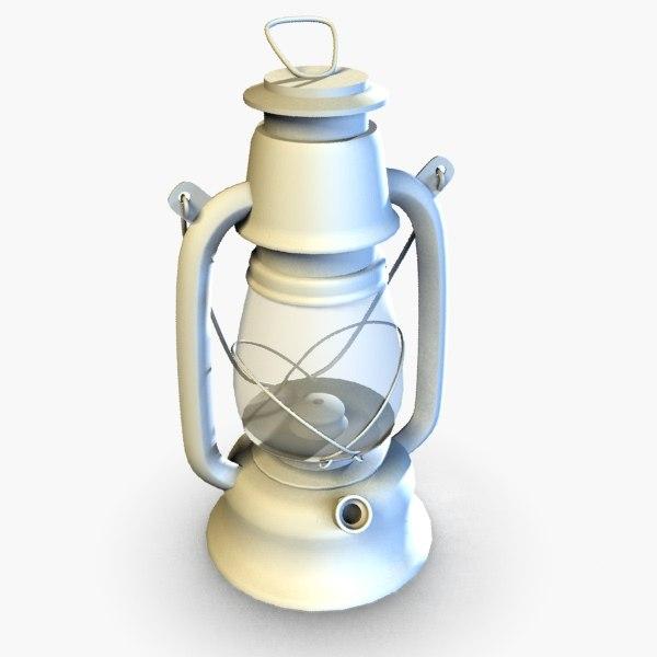 oil lamp 3d model