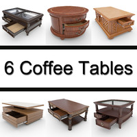 6 Coffee Tables