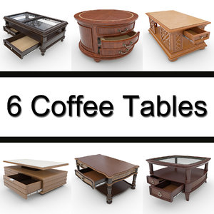 6 coffee table max