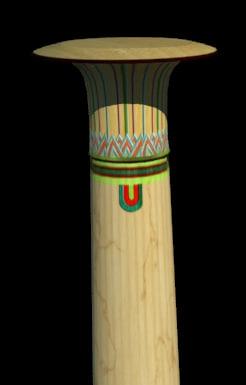 free egypt column 3d model