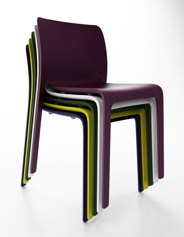 magis chair 3ds