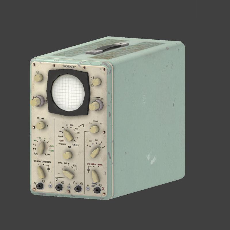 oscilloscope scope 3d max