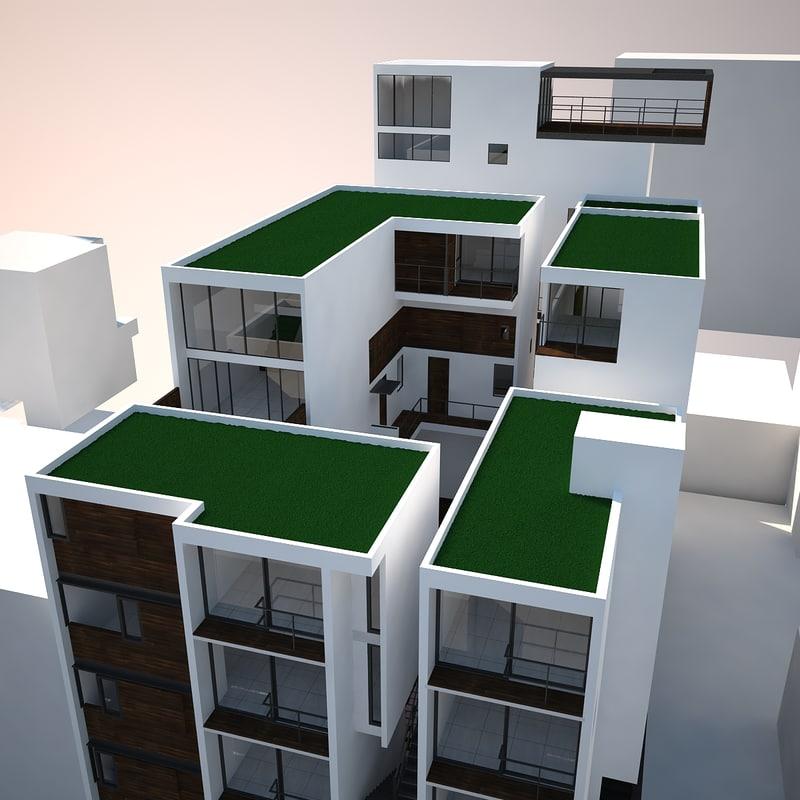 3d luxury condominium 2011 model