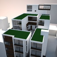 3d luxury condominium 2011 model