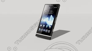 sony xperia s 3d model