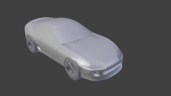 3d toyota supra model