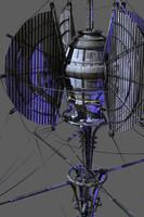 Da Vinci spaceship