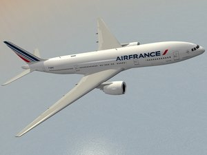 boeing 777-200 er air france c4d