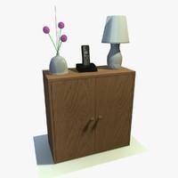 cabinet decor 3d x