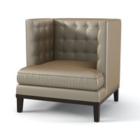 brooklea noho armchair 3d model