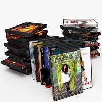 3ds max dvd jewel box