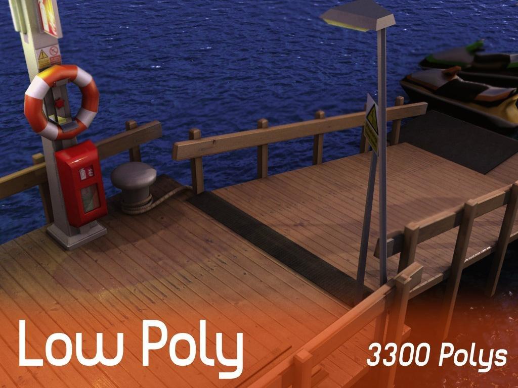 deck sea 3d model