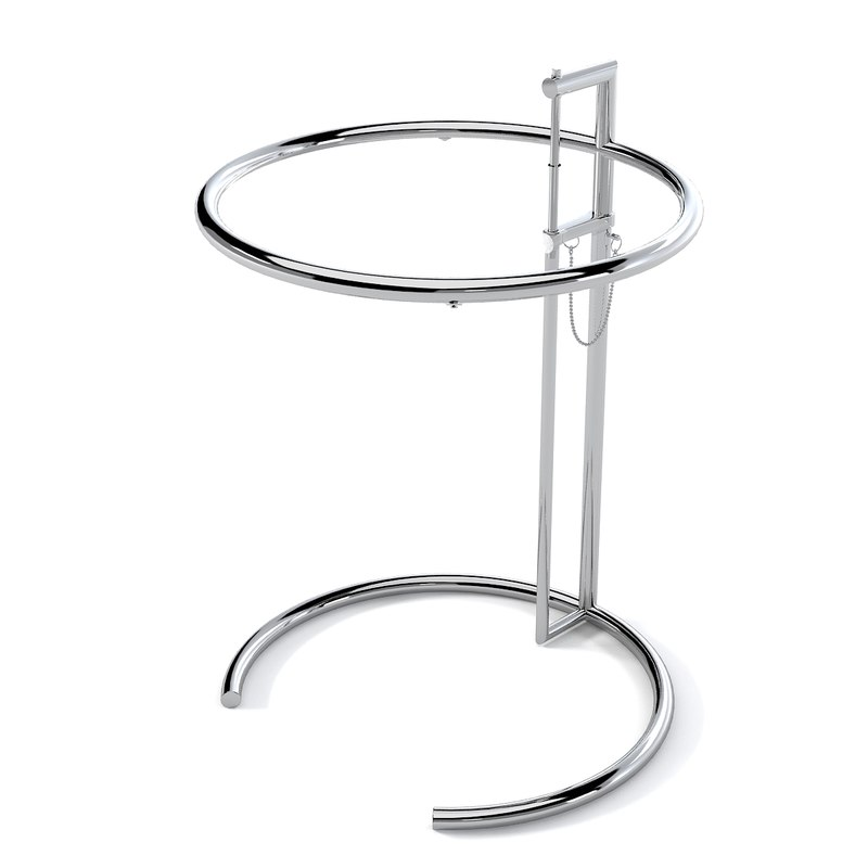 Eileen Gray Classicon Adjustable Side Table