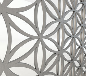 3d model fretwork screen