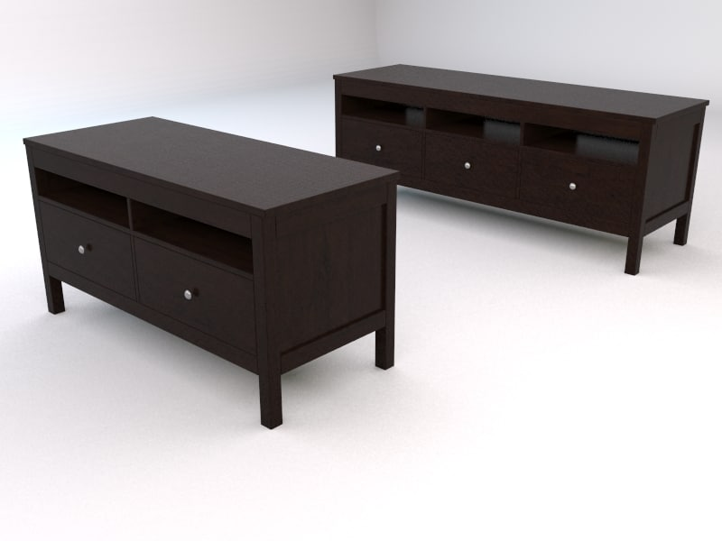 3ds ikea hemnes tv units. Black Bedroom Furniture Sets. Home Design Ideas