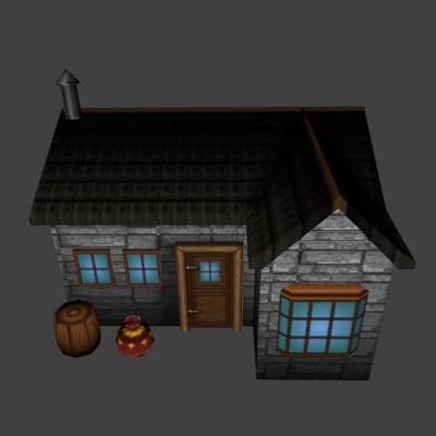 maya medieval house