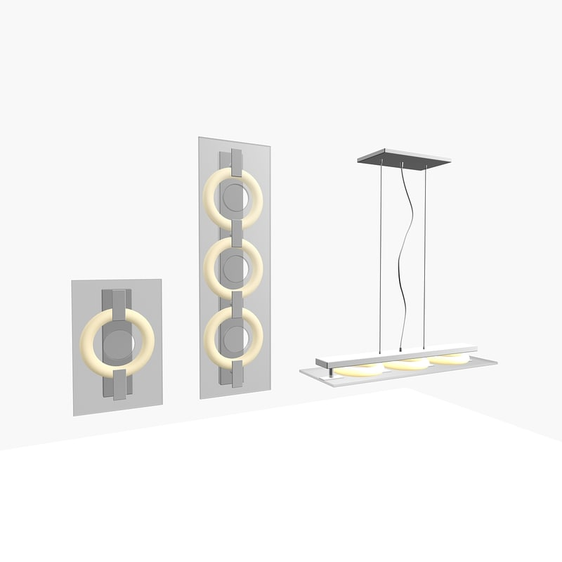 3d itre lamp gollection model