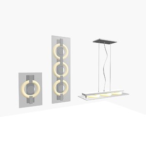 3d itre lamp gollection model