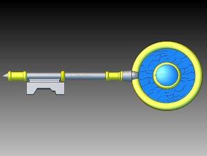 3d magic key