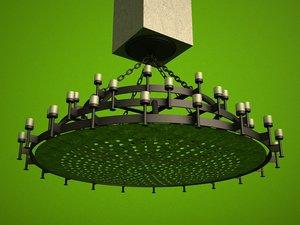 3d model lighting