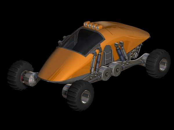 sling blade v1 road 3d model