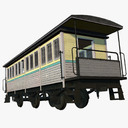 Old Passenger Train