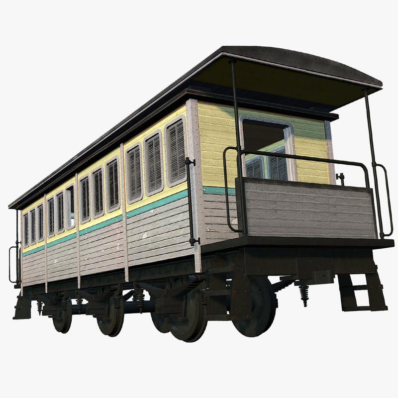 old train passengers max