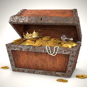 treasure chest pirate 3ds