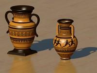 greek vase gr 3d model