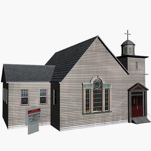 3d chapel model