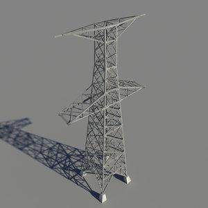 power pylon 3d model