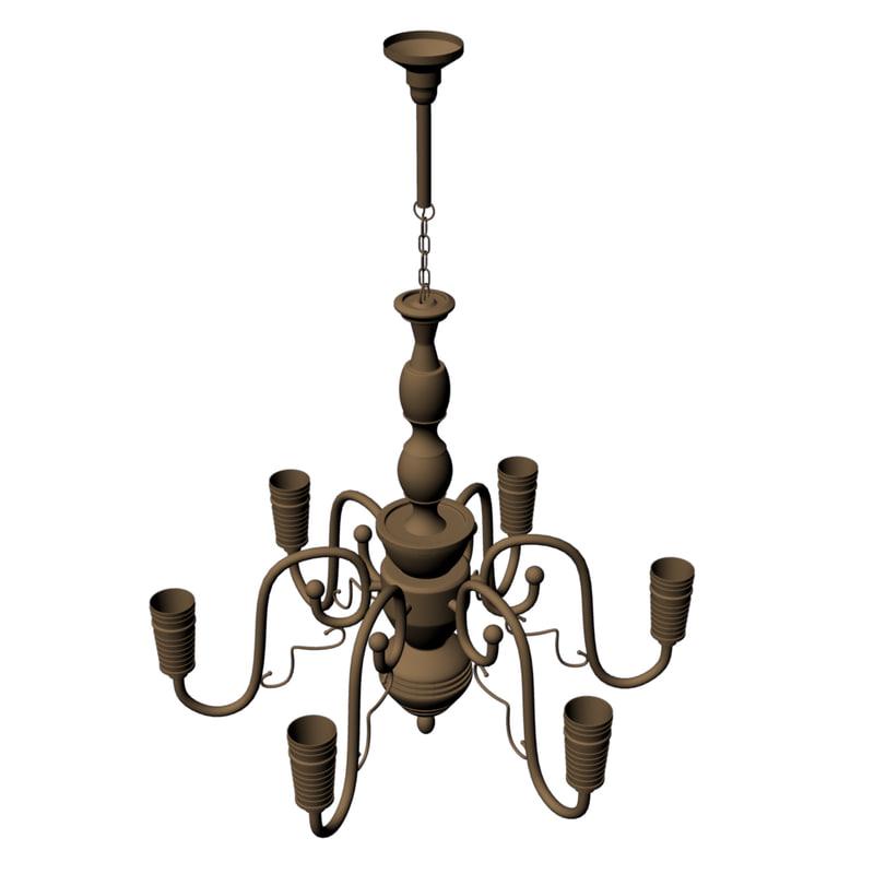 3d fbx lamp