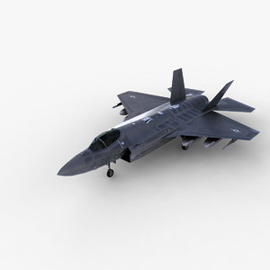 f35 lightning 3d model
