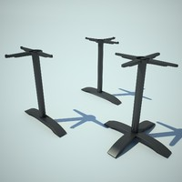 3d model feet table