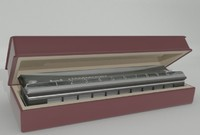 3d model harmonica hammond