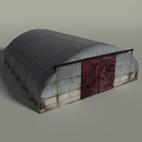 3d max hangar blender