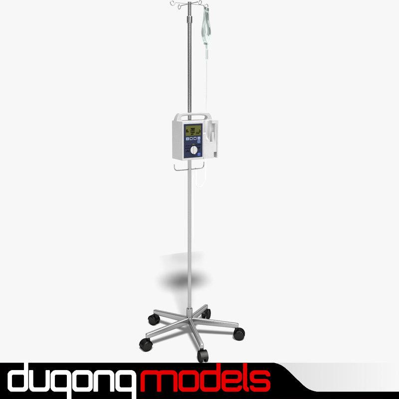 3d model dugm04 iv stand