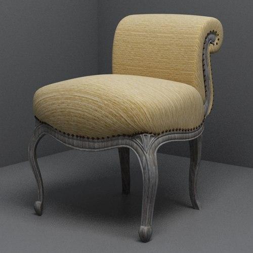 pomax chair 3d max