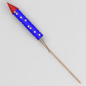 3dsmax firecracker