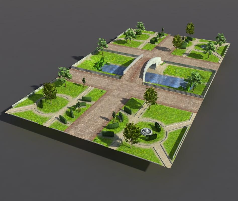 3d Park Model