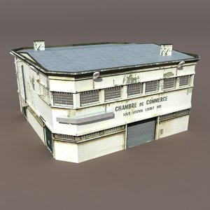 3ds max house warehouse