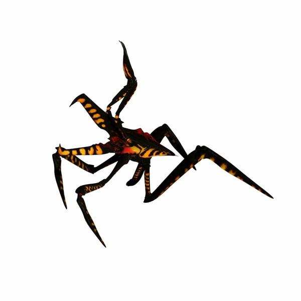 maya bug modeled arachnid starship troopers